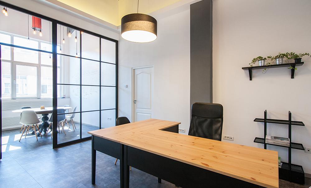 detaliu design interior spatiu birouri