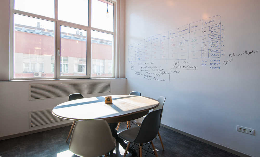 detaliu design interior birouri